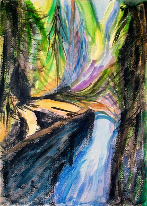 chosen brian_forrest_capilano_canyon_river_6_watercolor_17.5x12_w